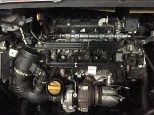 Vano motore Fiat 500L 1.3 mj