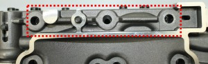 Fig. 5: Dettaglio della crepa individuata