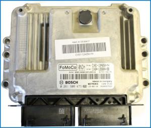 Motore Ford Ecoboost: centralina motore, dettaglio