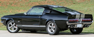 Shelby Mustang GT500, posteriore