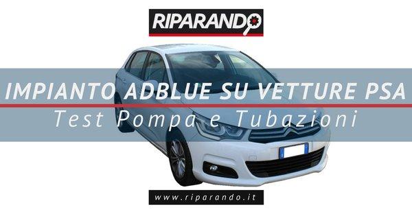 impianto AdBlue su vetture PSA