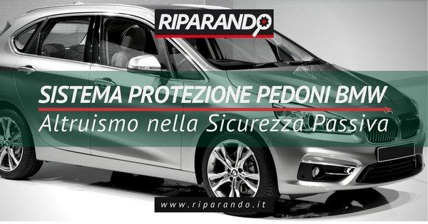 Sistema protezione pedoni BMW 216d