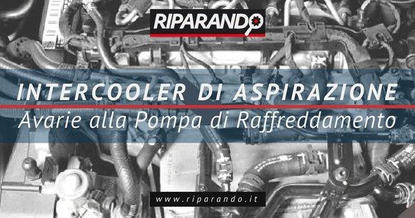 Intercooler di Aspirazione Su Motori Diesel Vag: Avarie Pompa di Raffreddamento