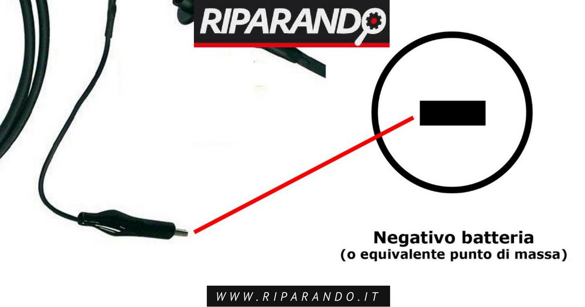 collegamento massa oscilloscopio Riparando