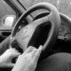 Auto senza volante Riparando