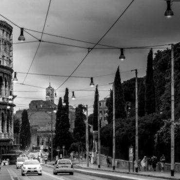 Auto a Roma