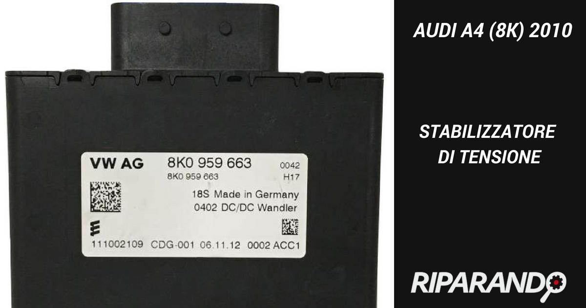 Infotainment e Start & Stop. Problematiche all'MMI dell'Audi A4