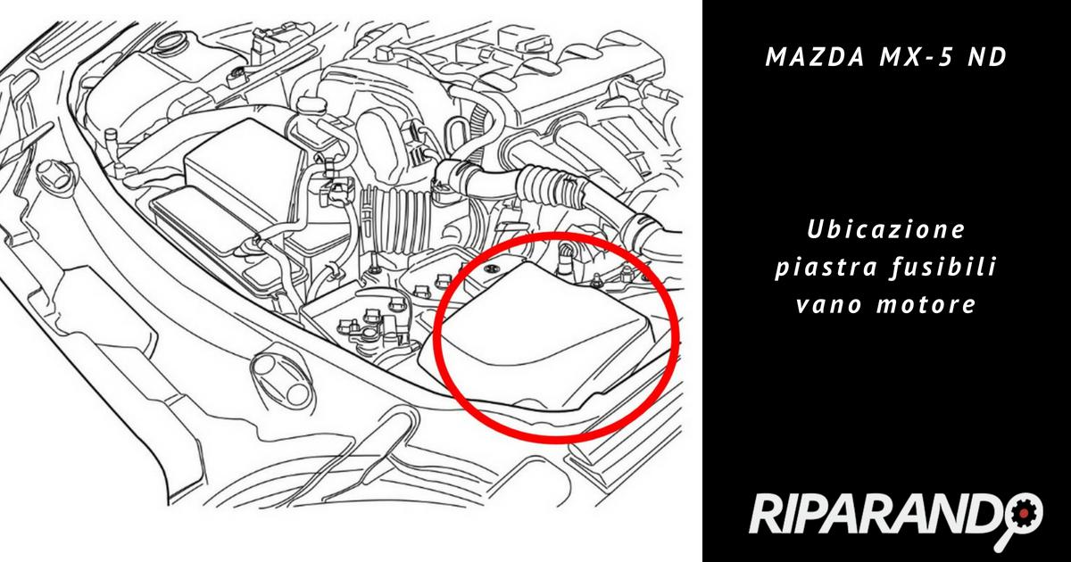 Mazda MX-5 ND - Cruise control e limitatore di velocità