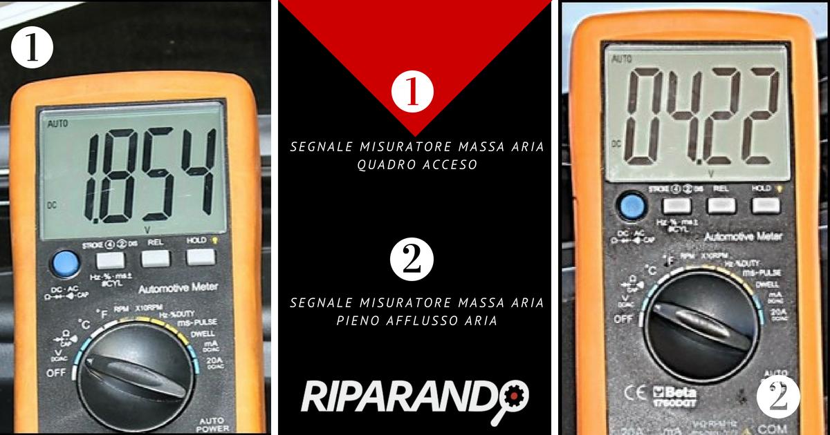 Segnale misuratore di massa Riparando