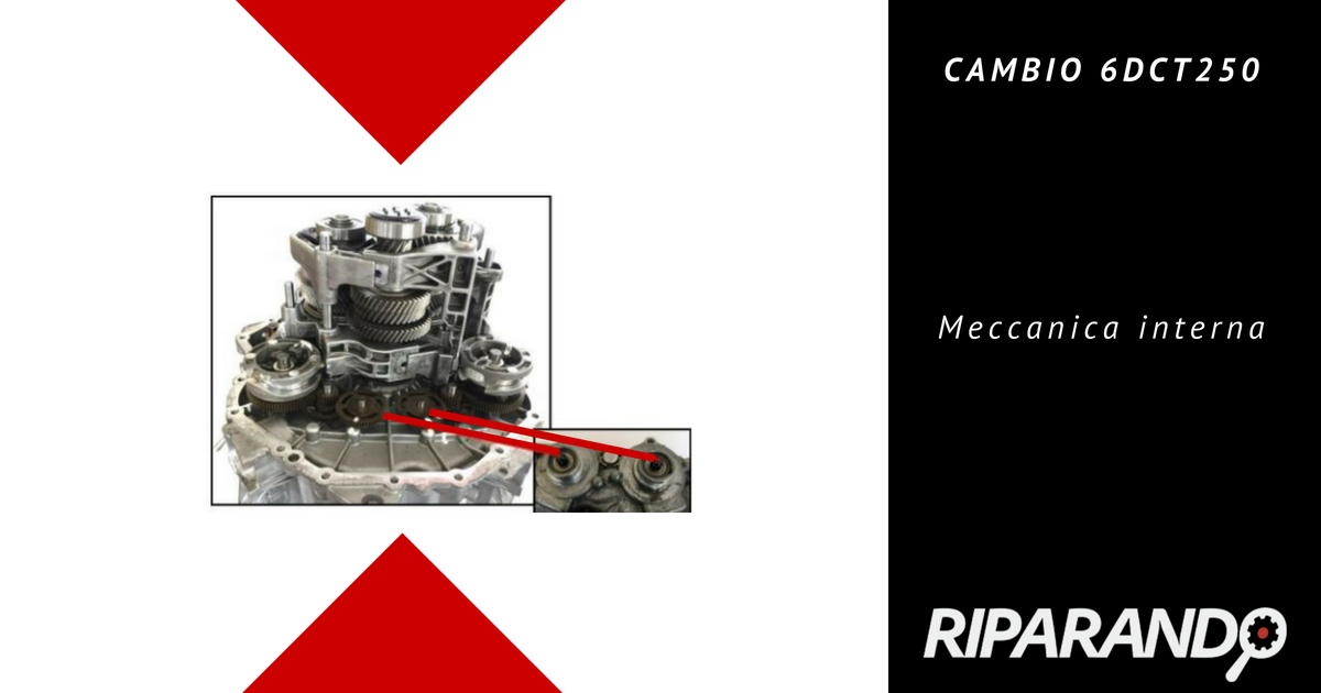CAMBIO 6DCT250 - Meccanica interna - Riparando