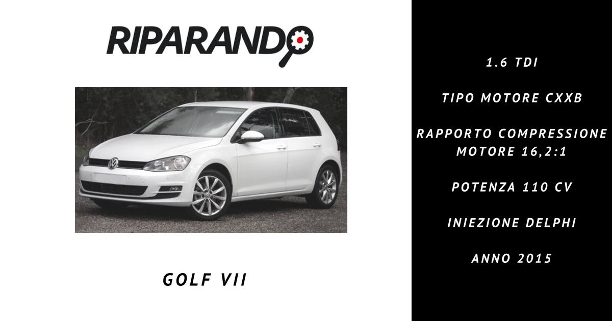 Riparando Golf VII 1.6 TDI