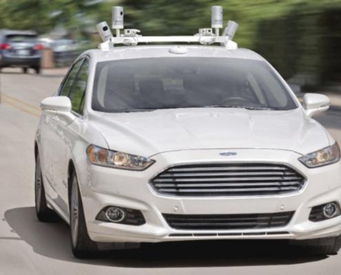 Auto Ford a guida autonoma Anteprima - Riparando