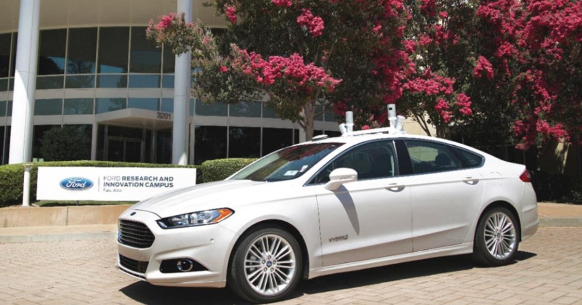 Auto Ford a guida autonoma