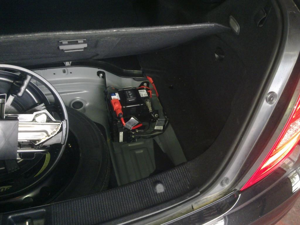 mercedes classe b batteria