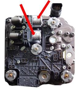 Figura 3: Valvola regolatrice pressione k2 (in alto)                              e k1 (in basso)