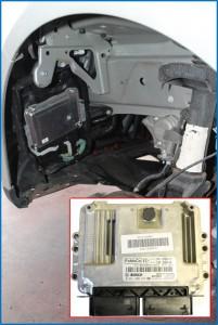 Motore Ford Ecoboost: centralina motore, identificazione connettori elettrici