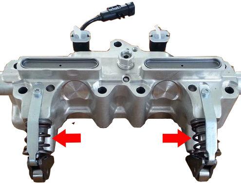 Motore TwinAir Dettaglio Molle modulo UniAir