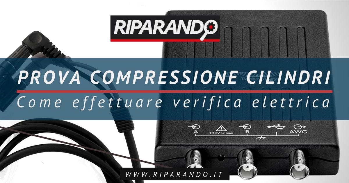 Prova compressione cilindri Riparando