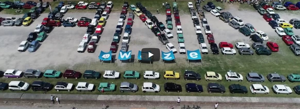 Fiat Panda Waze YouTube