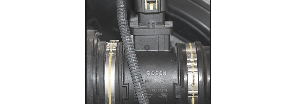 Misuratore massa aria digitale tutti i controlli elettrici da effettuare