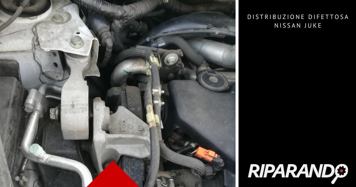Distribuzione difettosa Nissan Juke problema meccanico