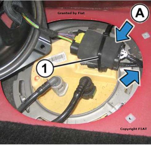Sistemazione del cablaggio modificato